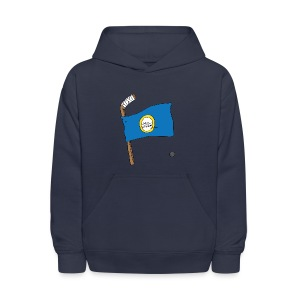 Boston Hockey Flag - Kids' Hoodie
