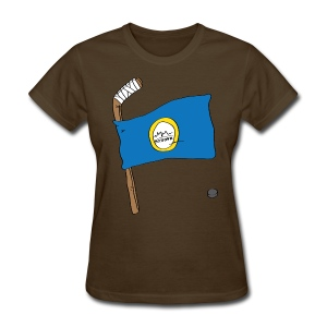 Boston Hockey Flag - Women's T-Shirt