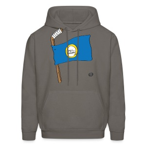 Boston Hockey Flag - Men's Hoodie