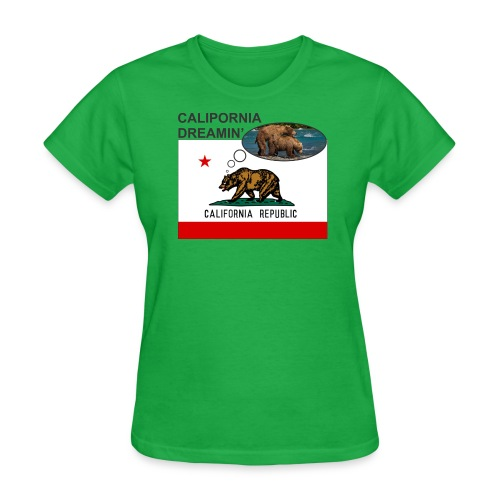 Calipornia Dreamin' F - Women's T-Shirt