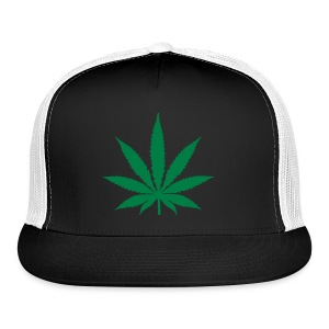 Marijuana Hat - Trucker Cap