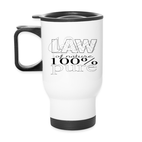 LAW of Nature 100% Pure Travel Mug - Travel Mug