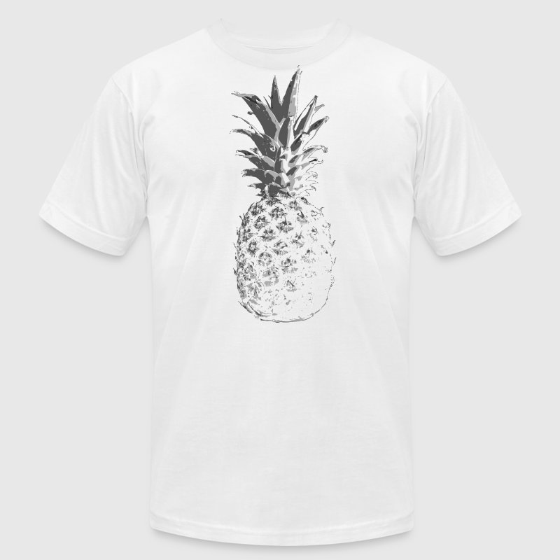 pineapple T-Shirts - Men's T-Shirt by American Apparel