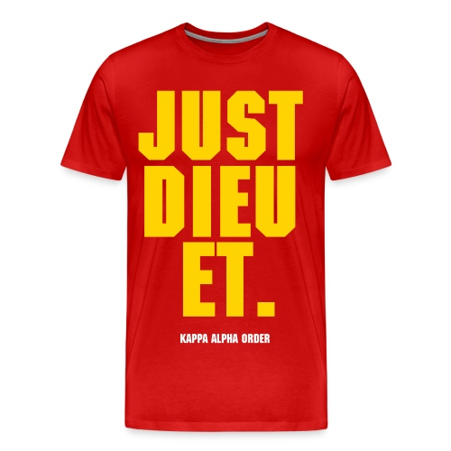 JUST DIEU IT  - Men's Premium T-Shirt