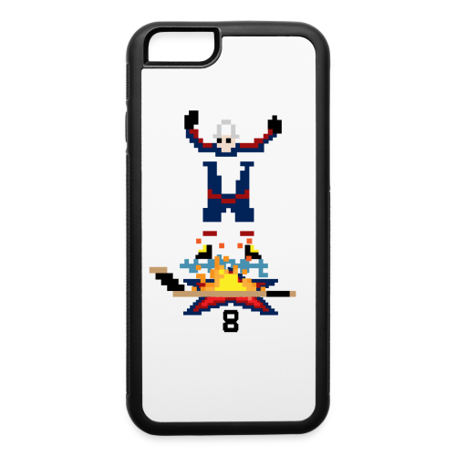 8-Bit Hot Stick iPhone 6 Rubber Case - iPhone 6/6s Rubber Case