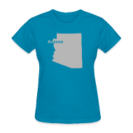 T-Shirts ~ Women's T-Shirt ~ Arizona