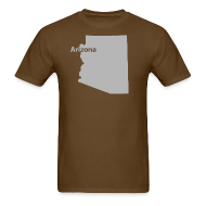 T-Shirts ~ Men's T-Shirt ~ Arizona