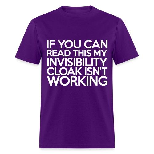 Invis Cloak  - Men's T-Shirt
