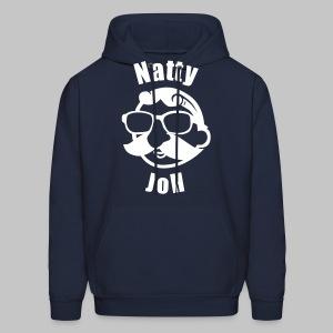 Natty Joh Hoodie - Blue - Men's Hoodie