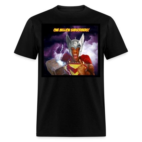 The Black Viking T-Shirt!!! - Men's T-Shirt