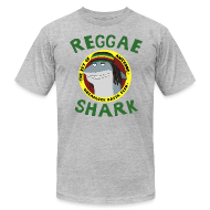 T-Shirts ~ Men's T-Shirt by American Apparel ~ Reggae Shark