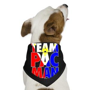 Team Pac Man,pac,man,dog,perro - Dog Bandana