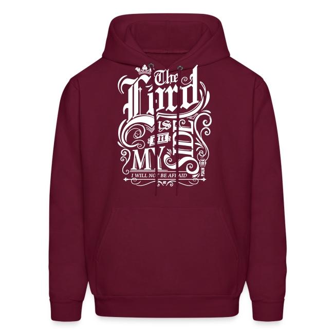 57b2e3c65 Ends Of The Earth   The Lord is on My Side Mens Hooded Sweatshirt ...