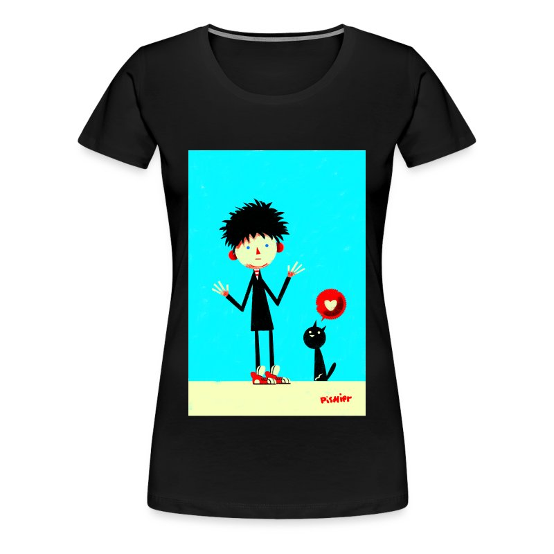 robert love cat - Women's Premium T-Shirt
