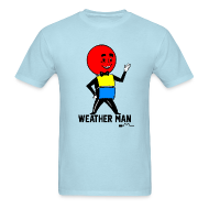 T-Shirts ~ Men's T-Shirt ~ Mr. Weather Ball