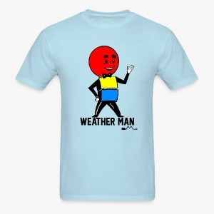 Mr. Weather Ball - Men's T-Shirt