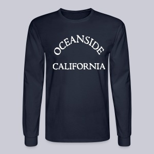 Oceanside California - Men's Long Sleeve T-Shirt