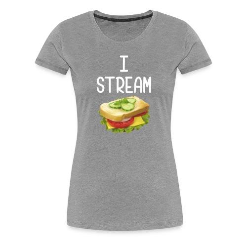 IStreamSandwich Tee [Female] - Women's Premium T-Shirt