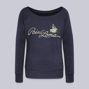 Point Loma - Women's Wideneck Sweatshirt