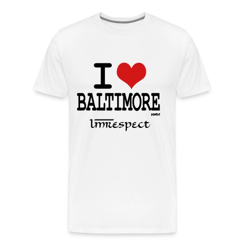 I love Baltimore  - Men's Premium T-Shirt