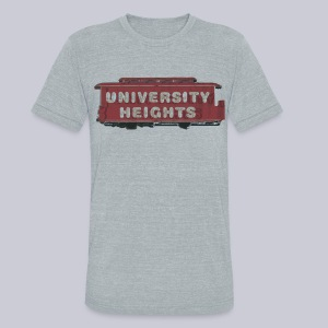 University Heights - Unisex Tri-Blend T-Shirt by American Apparel