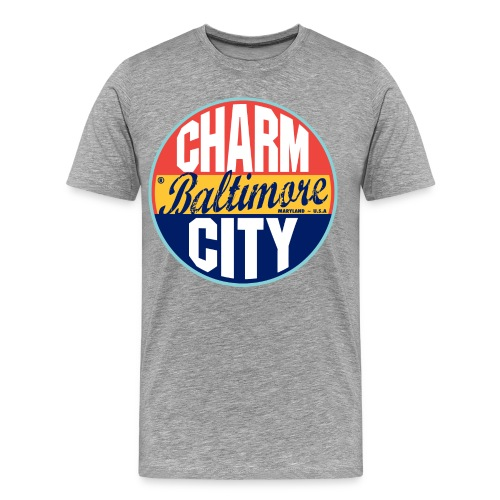 Charm City  - Men's Premium T-Shirt