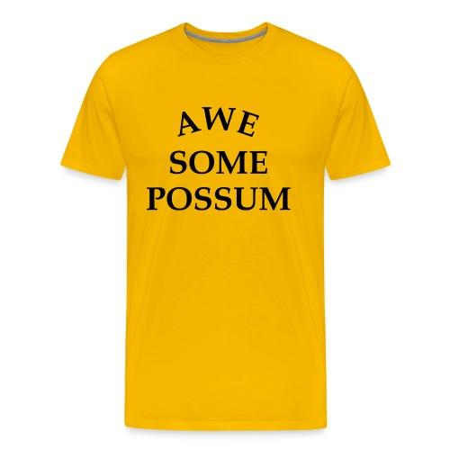 Awesome Possum - Men's Premium T-Shirt