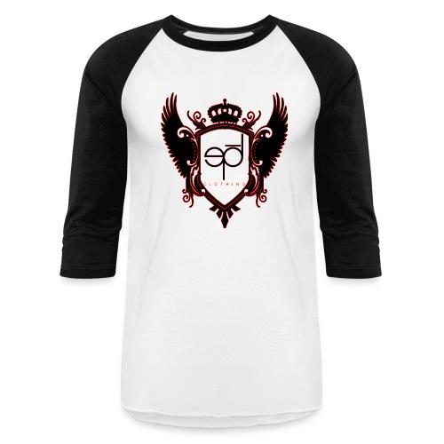 epod crest bball - Baseball T-Shirt