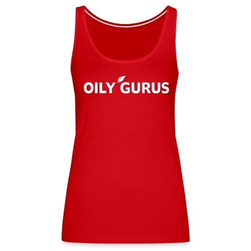 Oily Gurus Tank (Red) - Women's Premium Tank Top