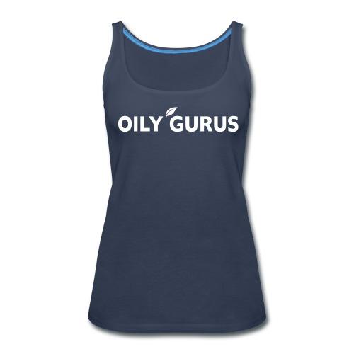 Oily Gurus Tank (Navy) - Women's Premium Tank Top