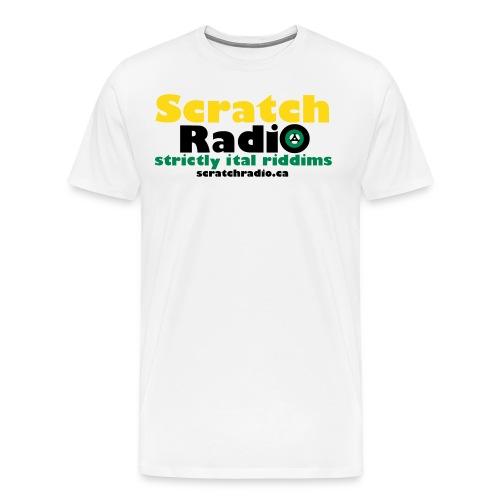 Men's T - Premium (White) - Men's Premium T-Shirt