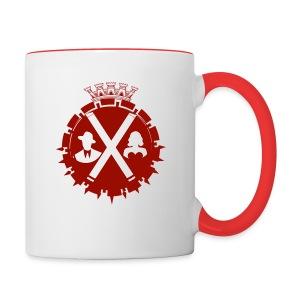 BROX Two-Colored Coffee Mug - Contrast Coffee Mug