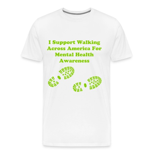 Walking Like Crazy T-Shirt w/ $5 donation to Project 375 - Men's Premium T-Shirt