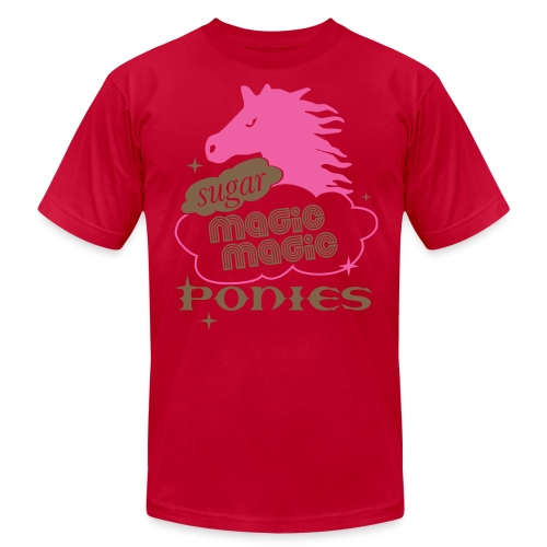 Male shirt w/text - Men's  Jersey T-Shirt