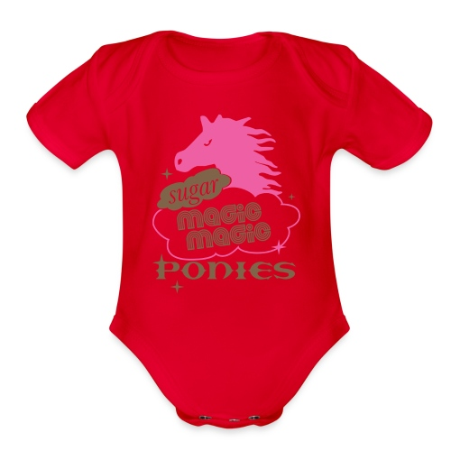 Baby clothes thing! - Organic Short Sleeve Baby Bodysuit