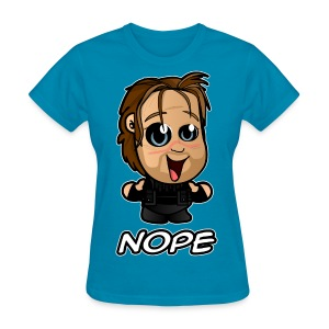 Nope 01 (Female) - Women's T-Shirt