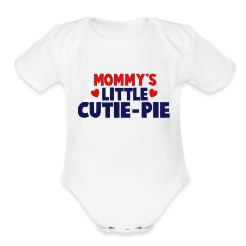 dd4l - Organic Short Sleeve Baby Bodysuit