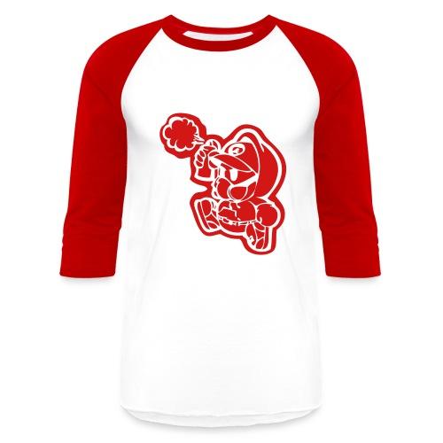 Campaign Graffiti Baseball Tee - Baseball T-Shirt