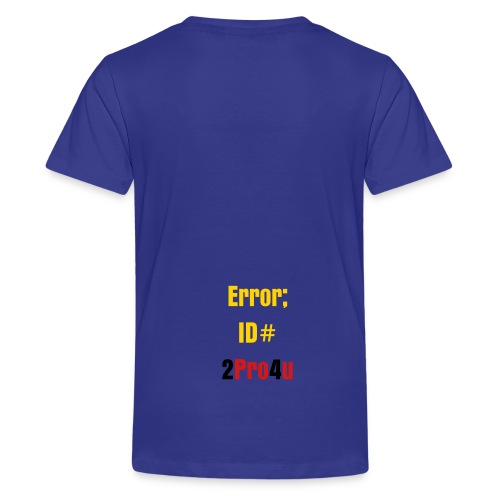 JamonDoesGaming Phrase Shirt for Kids #2 of Edition - Kids' Premium T-Shirt