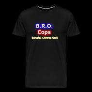 T-Shirts ~ Men's Premium T-Shirt ~ Bro Cops SCU - Men's