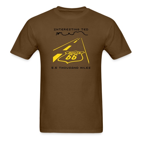 Road Trip 5.5 Thousand Miles - Men's T-Shirt