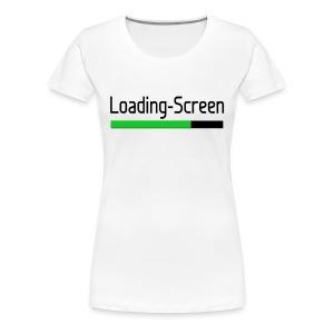 Loading-Screen - Women's  - Women's Premium T-Shirt