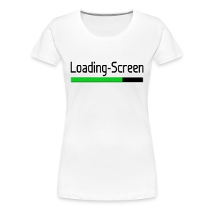Loading-Screen - Women's  - Women's Premium T-Shirt