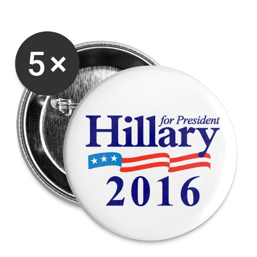Hillary 2016 - Large Buttons