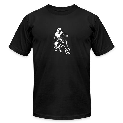 Female Tennis Player - vintage - Men's Fine Jersey T-Shirt