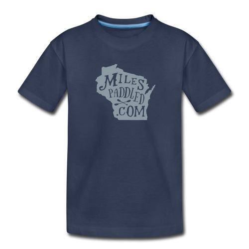 Miles Paddled Wisconsin - Kids - Kids' Premium T-Shirt