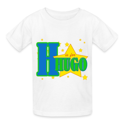 H is for Hugo named t-shirt - Kids' T-Shirt