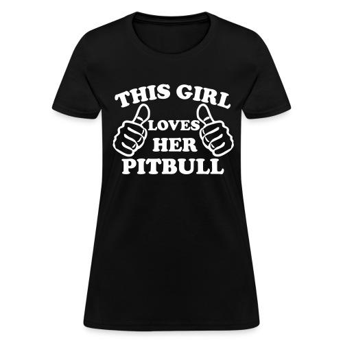 this girl - Women's T-Shirt
