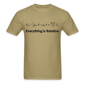Relativity Equations - Men's T-Shirt