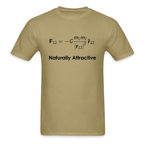 Newtonian Gravity Equation - Men's T-Shirt